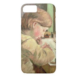 Coque iPhone 8/7 Écriture de Paul, c.1894 (huile sur la toile)