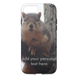 Coque iPhone 8/7 Écureuil regardant votre cas dur de téléphone