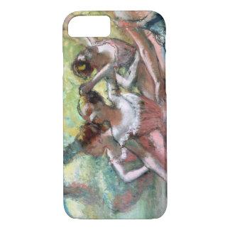 Coque iPhone 8/7 Edgar Degas | quatre ballerines sur l'étape