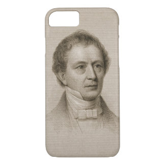 Coque iPhone 8/7 Edouard Everett, gravé par John Cheney (1801-85)