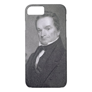 Coque iPhone 8/7 Edouard Livingston, gravé par Edouard Wellmore (la