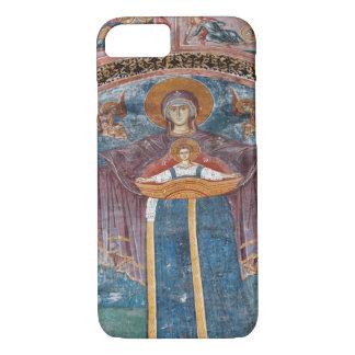 Coque iPhone 8/7 Église orthodoxe serbe, et un site de l'UNESCO,