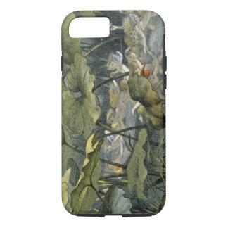 Coque iPhone 8/7 Elfes en bois au jeu, illustration de 'dans