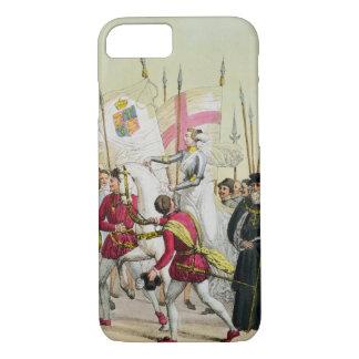 Coque iPhone 8/7 Elizabeth I, plaquent 12 'de l'histoire du