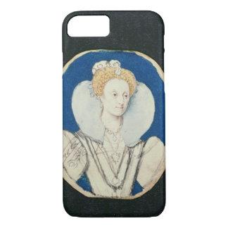 Coque iPhone 8/7 Elizabeth I, portrait miniature, (non fini)