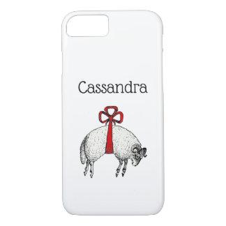 Coque iPhone 8/7 Emblème réuni héraldique de crête de moutons de
