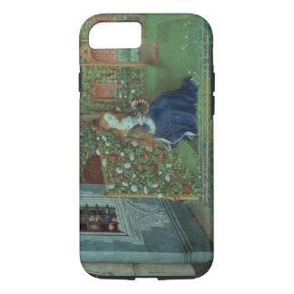 Coque iPhone 8/7 Emelye dans son jardin. Les chevaliers emprisonnés