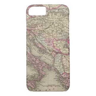 Coque iPhone 8/7 Empire autrichien, Italie, Turquie en Europe,