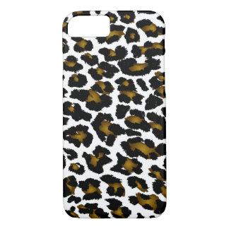 Coque iPhone 8/7 Empreinte de léopard de PixDezines