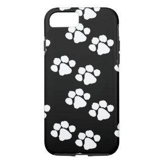 Coque iPhone 8/7 Empreintes de pattes d'animaux familiers