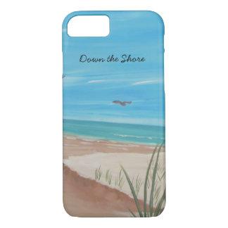 Coque iPhone 8/7 En bas du cas de l'iPhone 7 de rivage
