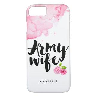 Coque iPhone 8/7 Épouse d'armée