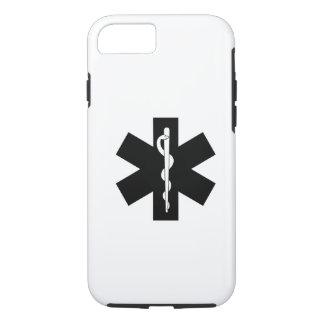 Coque iPhone 8/7 Étoile d'infirmier de SME EMT
