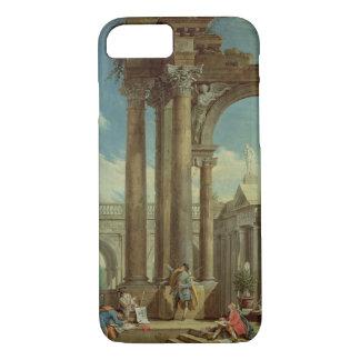 Coque iPhone 8/7 Étude de la perspective parmi les ruines romaines