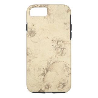 Coque iPhone 8/7 Étude des fleurs de Herbe-comme des plantes (Briza