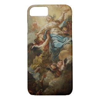 Coque iPhone 8/7 Étudiez pour l'acceptation de la Vierge, c.1760 2