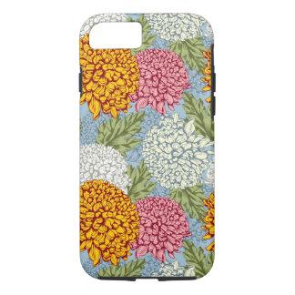 Coque iPhone 8/7 Excellent motif avec des chrysanthèmes