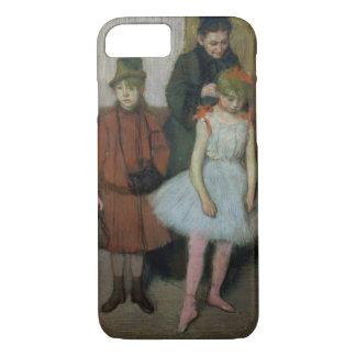 Coque iPhone 8/7 Femme d'Edgar Degas | avec deux petites filles