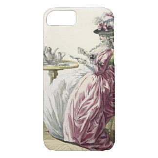 """Coque iPhone 8/7 Femme élégante dans une robe """"un l'Anglaise"""" C"""