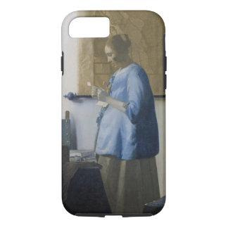 Coque iPhone 8/7 Femme lisant une lettre, c.1662-63 (huile sur la