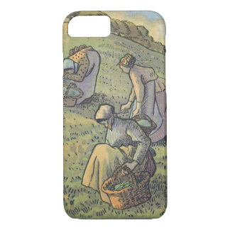 Coque iPhone 8/7 Femmes recueillant des champignons, 'de champion