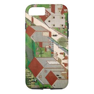 Coque iPhone 8/7 Ferme de vallée de Mahatango, fin du 19ème siècle