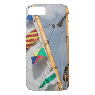 Coque iPhone 8/7 Festival en bois 3 de bateau d'île de Bainbridge