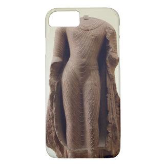 Coque iPhone 8/7 Figure d'un Bouddha debout, Jamalpur, Mathura (au