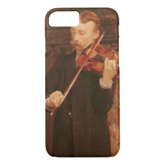 Coque iPhone 8/7 Fils d'Alma-Tadema   Maurice jouant le violon