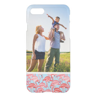 Coque iPhone 8/7 Flamants roses lumineux de photo faite sur