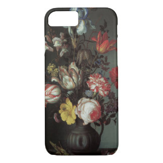 Coque iPhone 8/7 Fleurs baroques vintages par Balthasar van der Ast