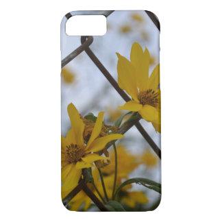 Coque iPhone 8/7 Fleurs dans la barrière