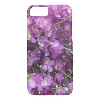 Coque iPhone 8/7 Fleurs de Columbine