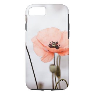 Coque iPhone 8/7 Fleurs rouges de pavot