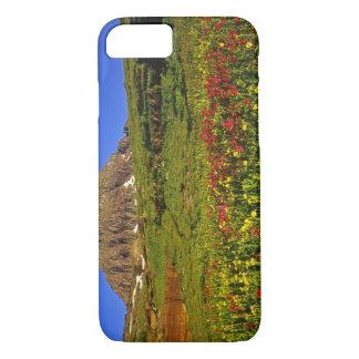 Coque iPhone 8/7 Fleurs sauvages alpins au passage de Logan en