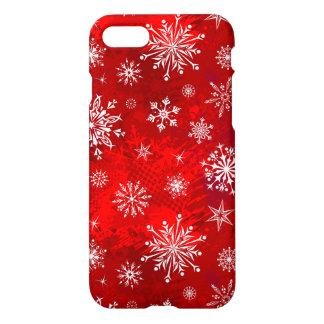 Coque iPhone 8/7 Flocons de neige blancs