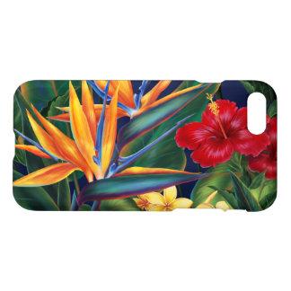 Coque iPhone 8/7 Floral hawaïen de paradis tropical