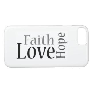 Coque iPhone 8/7 Foi, espoir et amour : 1 13h13 de Corinthiens