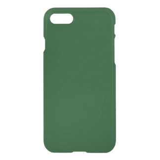 Coque iPhone 8/7 Forest Green personnalisable moderne