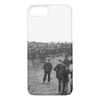 Coque iPhone 8/7 Foule à Gettysburg, le 19 novembre image _War