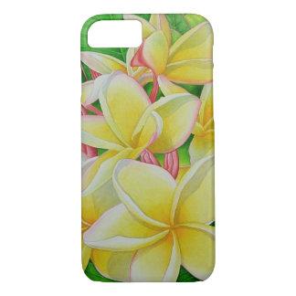 Coque iPhone 8/7 Frangipani hawaïen