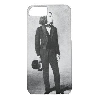 Coque iPhone 8/7 Franz Liszt (1811-86) 1856 (litho) (photo de b/w)