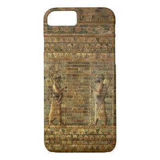 Coque iPhone 8/7 Frise des archers de la garde du roi persan, pour