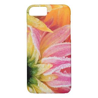 Coque iPhone 8/7 Frost sur les dernières fleurs de la chute -