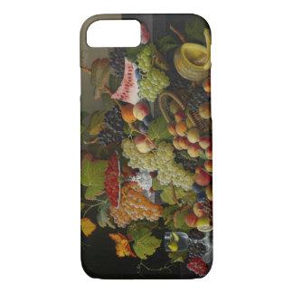Coque iPhone 8/7 Fruit abondant, 1858 (huile sur la toile)