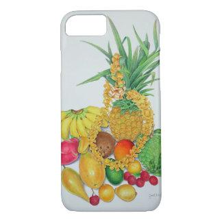 Coque iPhone 8/7 Fruit tropical et Lei