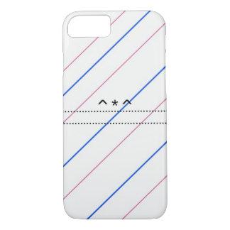 Coque iPhone 8/7 Gaine de main avec des bandes et un motif doux