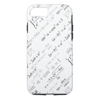 Coque iPhone 8/7 Geek drôle de maths de formules de mathématiques