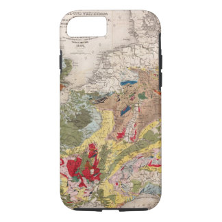 Coque iPhone 8/7 Géologie de l'Europe