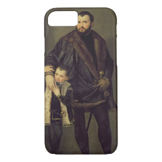Coque iPhone 8/7 Giuseppe DA Porto et son fils Adriano, c.1555